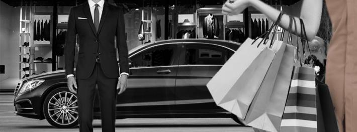 Shoping voiture boutique